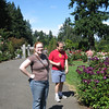 Meaghan and Jon at the Rose Garden