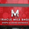 Entrance to the Miracle Mile shopping arcade.