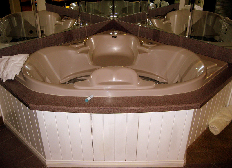 Our jacuzzi tub.
