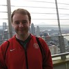 Stu at the top of the Space Needle.