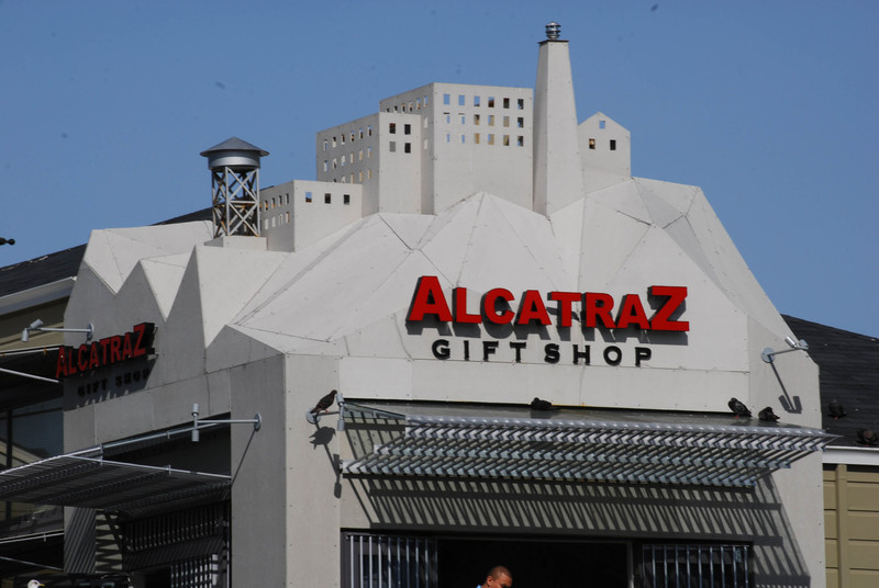 Alcatraz Gift Shop at Pier 39 in San Francisco