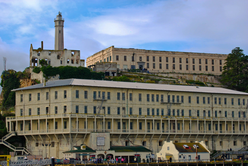 Alcatraz Dock and Cell Block