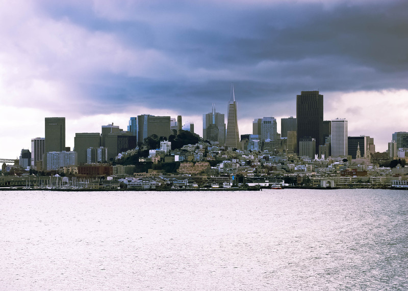 San Francisco Skyline as seen from Alcatraz Island
