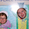 Being silly at the Pike Place Market.