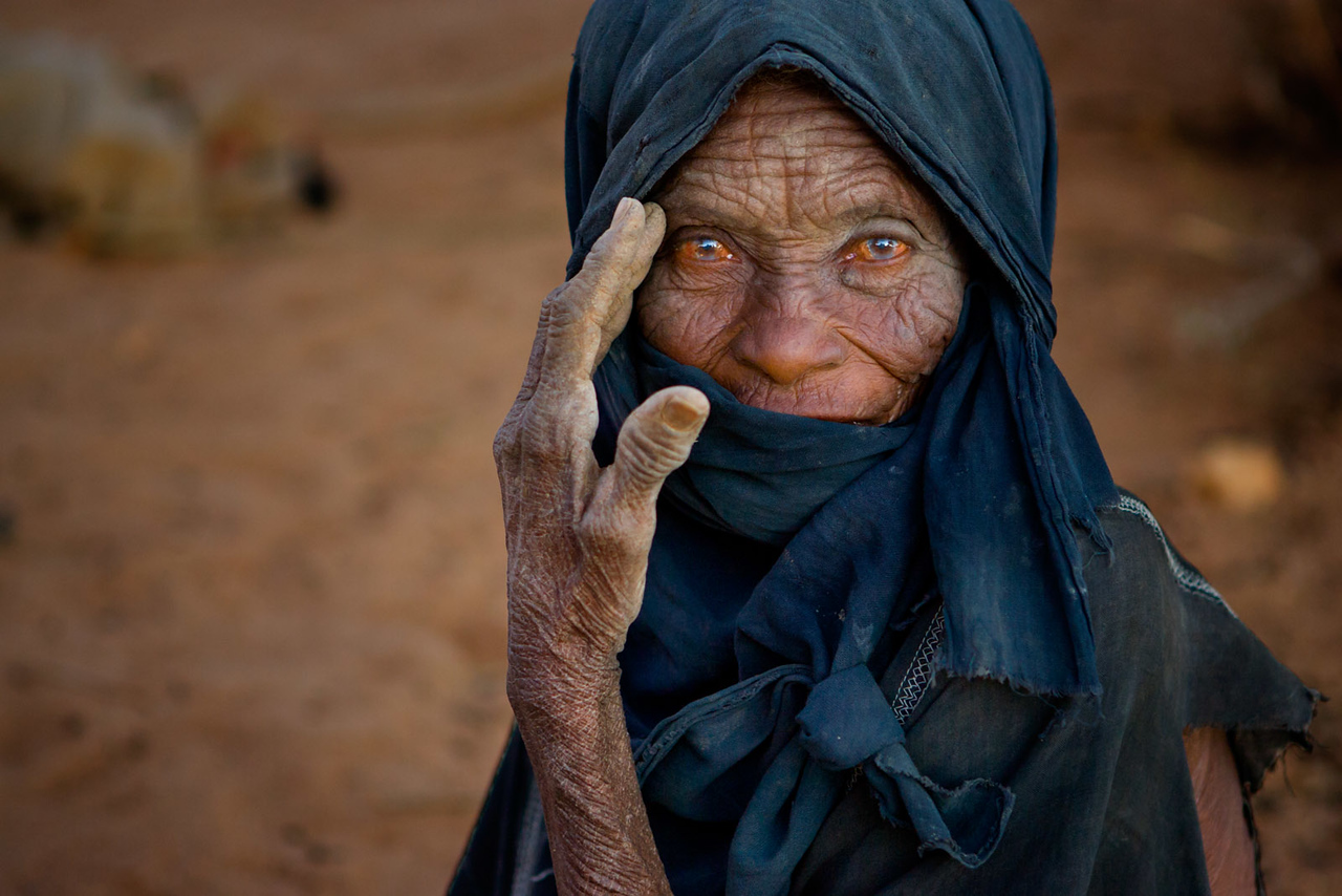 Old lady. Aïr Mountains.