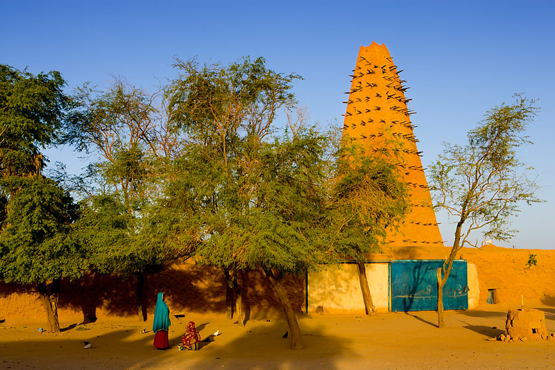 The Grande Mosque. Agadez.