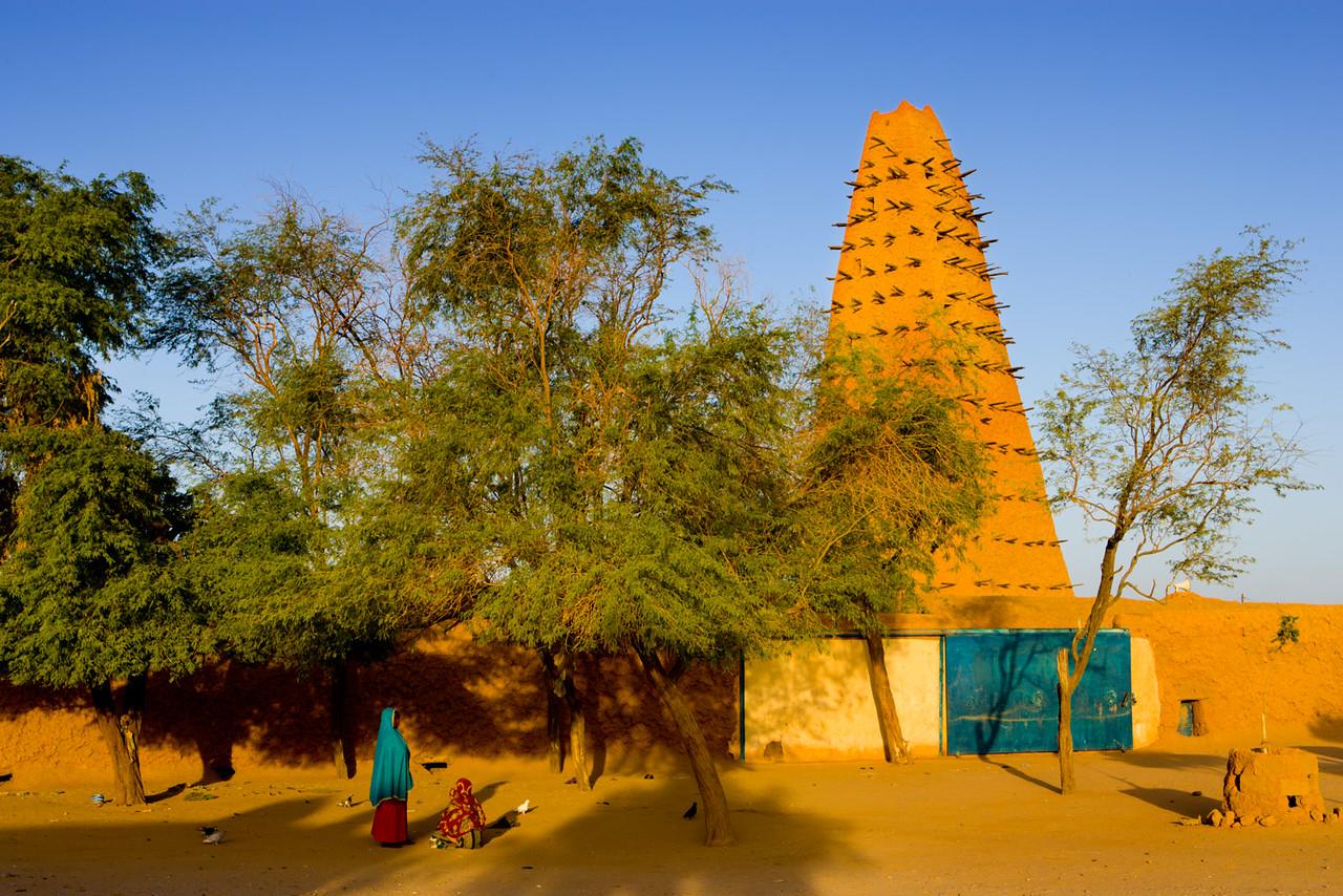 The Grande Mosque. Agadez.