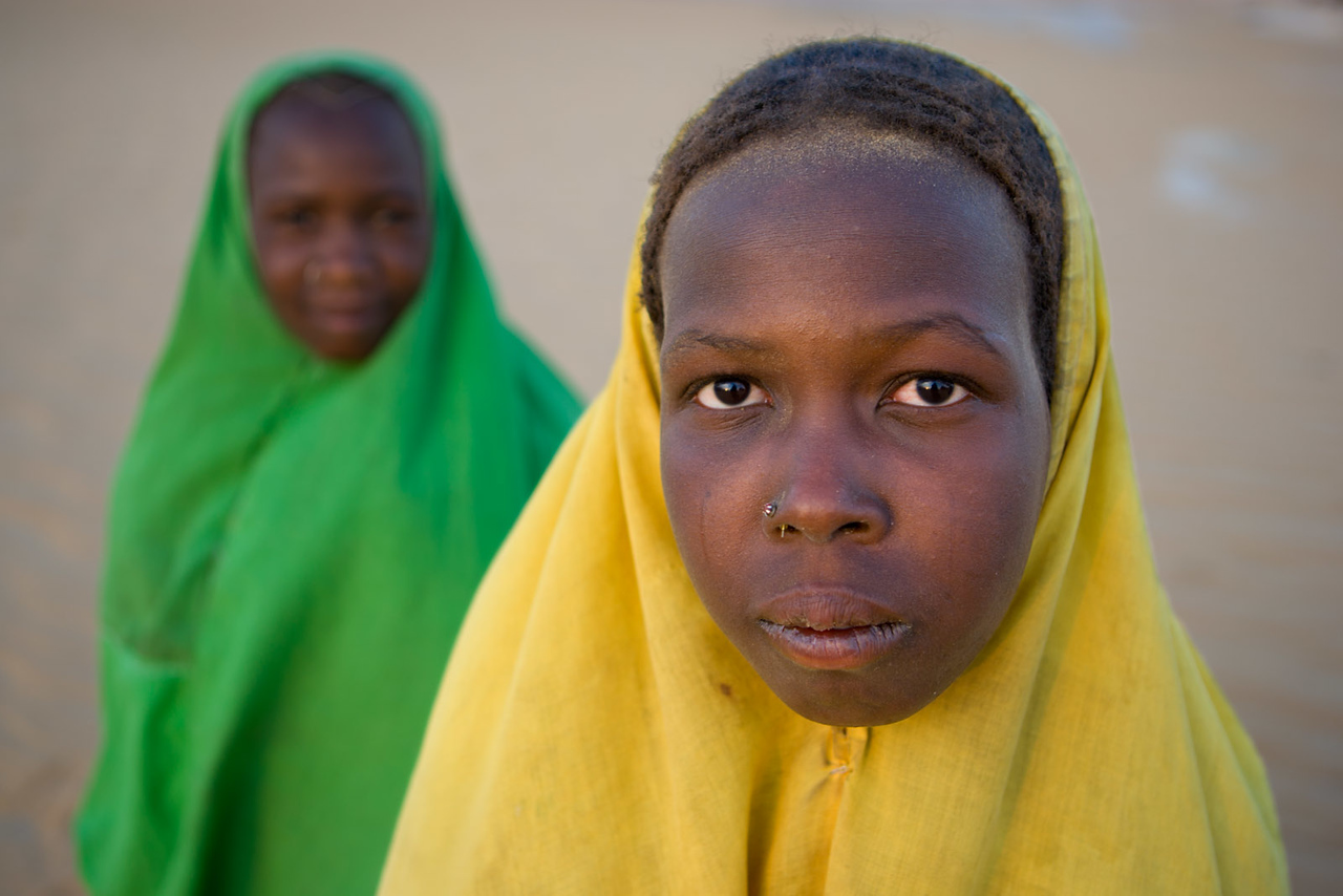 Girls from Fachi. Ténéré dessert.