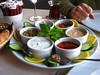 Mixed Meze plate at Alaturca