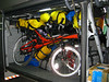 Bikes safely packed in our bus to Goreme
