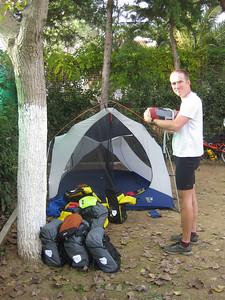Campsite in Metaponto