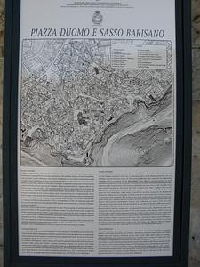 Piazza Duomo info plaque