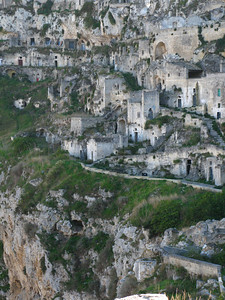 Looking over the oldest parts of Sasso Caveoso