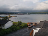 View of Port Hawksbury harbour from our B&B