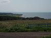 Our only sight of Prince Edward Island on this trip.
