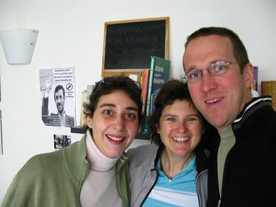 Elena, Becky and Scott