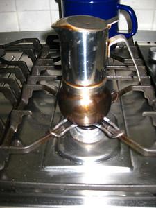 A stovetop espresso maker - what a brilliant idea!