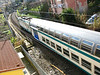 Train passing Mirco's apartment