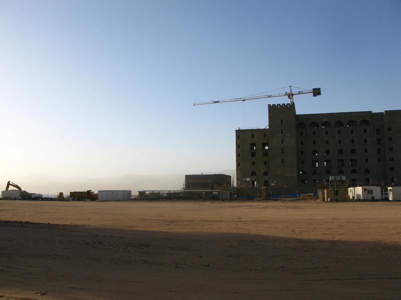More massive hotels under construction