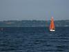 Sailboat near Bainbridge Island