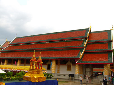 Typical Thai Wat construction