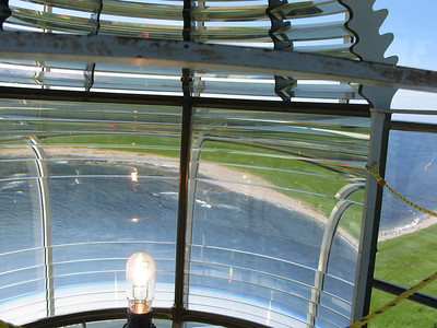 View from inside the Fresnel lens