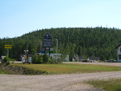Filane's Fallen Rock Motel, groceries, restaurant
