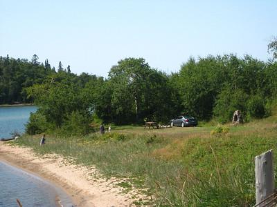 Rossport picnic area