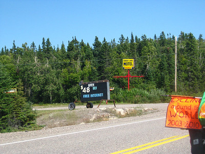Rongie Lake Motel, $48, free internet