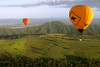Amazing views of the Gold Coast Hinterland in a Hot Air Balloon