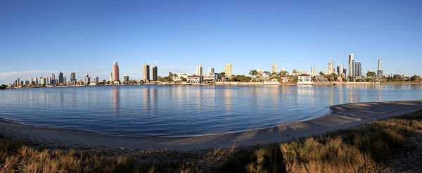 Surfers Paradise From Harry Bond Park