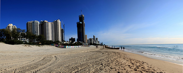 Surfers Paradise Looking North