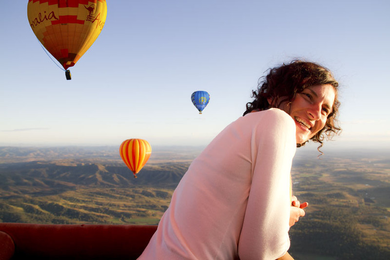 Gold Coast Hot Air Ballooning with Hot Air