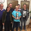 2017 Gold Cup runners-up: Norman Selway, Kay Preddy, Neil Rosen, Sally Brock, Martin Jones, Barry Myers,