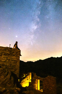 ⛏ Stargazing Above the Red Cloud Mine Mill Ruins 🌌