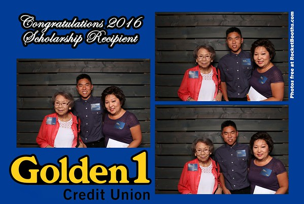 Golden 1 Scholarship Booth