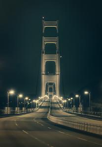 Empty Golden Gate
