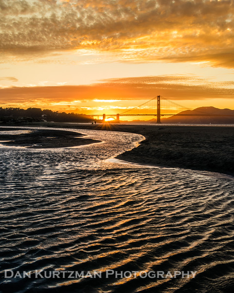 Last Light at the Golden Gate