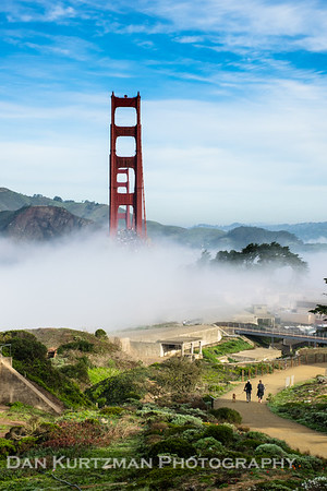 Foggy Morning at the Golden Gate