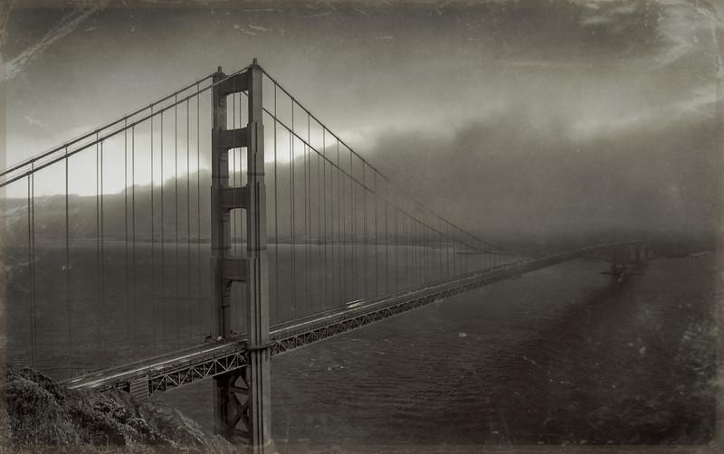 Old Golden Gate Postcard