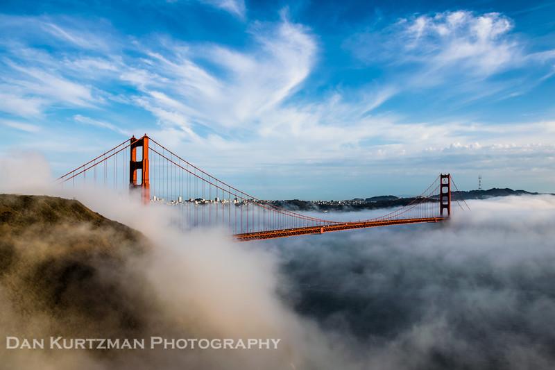 Golden Gate Bridge Dreamscape