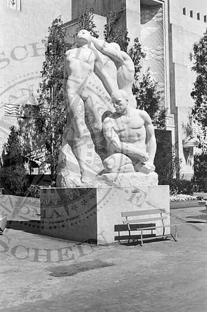 Statue at the GGIE