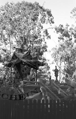 Temple Gate at The Tea Garden in Golden Gate Park