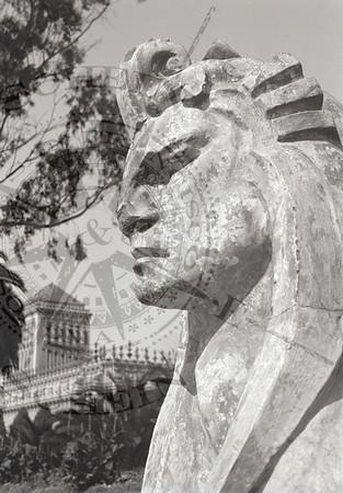 Copy of Sphinx by Arthur Putnam