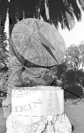 Sundial by M. Earl Cummings in Golden Gate Park