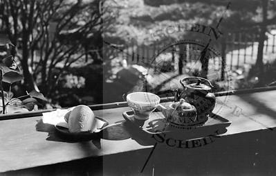 Tea Service at The Japanese Tea Garden