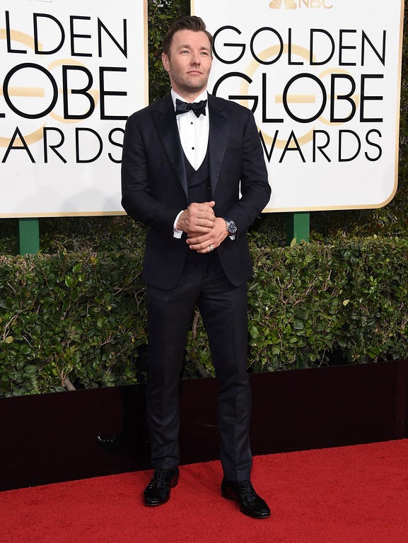 . Joel Edgerton arrives at the 74th annual Golden Globe Awards at the Beverly Hilton Hotel on Sunday, Jan. 8, 2017, in Beverly Hills, Calif. (Photo by Jordan Strauss/Invision/AP)