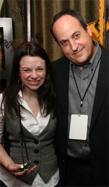 Joy Lauren with Jeff Owen