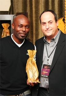 Jimmy Jean Louis with Jeff Owen