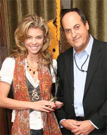 Anna Lynne McCord with Jeff Owen